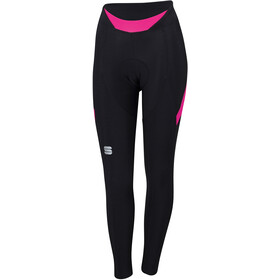 Sportful Neo Leggings Dames, black/bubblue gum
